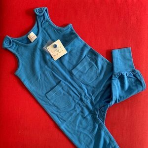 90 3T toddler jumper blue Hanna Andersson NWT